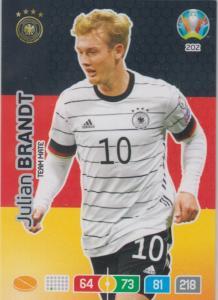 Adrenalyn Euro 2020 - 202 - Julian Brandt (Germany) - Team Mate