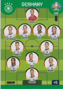Adrenalyn Euro 2020 - 207 - Line-Up (Germany) - Line-Up