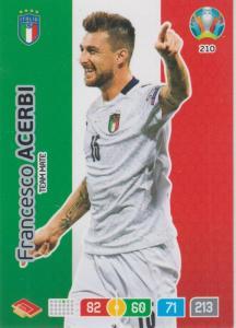 Adrenalyn Euro 2020 - 210 - Francesco Acerbi (Italy) - Team Mate