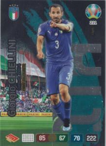Adrenalyn Euro 2020 - 211 - Giorgio Chiellini (Italy) - Fans' Favourite