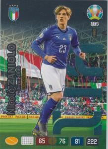 Adrenalyn Euro 2020 - 214 - Nicolò Zaniolo / Nicolo Zaniolo (Italy) - Wonderkid