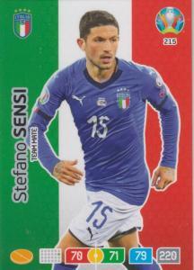 Adrenalyn Euro 2020 - 215 - Stefano Sensi (Italy) - Team Mate