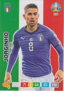 Adrenalyn Euro 2020 - 216 - Jorginho (Italy) - Team Mate