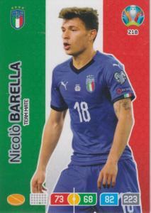 Adrenalyn Euro 2020 - 218 - Nicolò Barella (Italy) - Team Mate