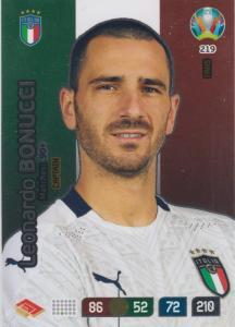 Adrenalyn Euro 2020 - 219 - Leonardo Bonucci (Italy) - Captain