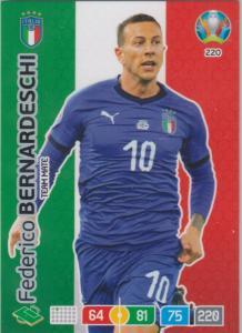 Adrenalyn Euro 2020 - 220 - Federico Bernardeschi (Italy) - Team Mate