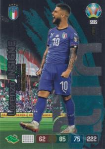 Adrenalyn Euro 2020 - 222 - Lorenzo Insigne (Italy) - Fans' Favourite