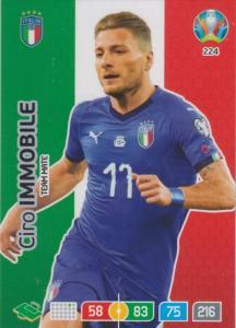 Adrenalyn Euro 2020 - 224 - Ciro Immobile (Italy) - Team Mate