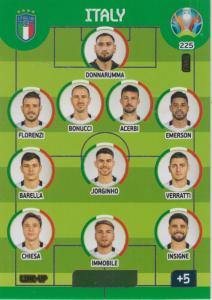 Adrenalyn Euro 2020 - 225 - Line-Up (Italy) - Line-Up