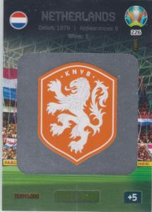 Adrenalyn Euro 2020 - 226 - Team Logo (Netherlands) - Team Logo