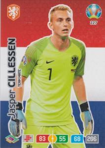 Adrenalyn Euro 2020 - 227 - Jasper Cillessen (Netherlands) - Team Mate