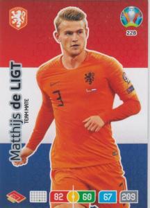 Adrenalyn Euro 2020 - 228 - Matthijs de Ligt (Netherlands) - Team Mate