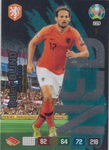 Adrenalyn Euro 2020 - 229 - Daley Blind (Netherlands) - Fans' Favourite
