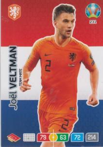 Adrenalyn Euro 2020 - 231 - Joël Veltman / Joel Veltman (Netherlands) - Team Mate