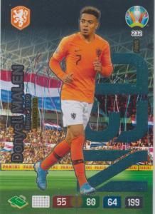 Adrenalyn Euro 2020 - 232 - Donyell Malen (Netherlands) - Wonderkid