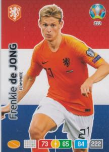 Adrenalyn Euro 2020 - 233 - Frenkie de Jong (Netherlands) - Team Mate