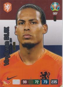 Adrenalyn Euro 2020 - 237 - Virgil van Dijk (Netherlands) - Captain