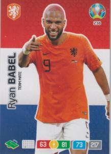 Adrenalyn Euro 2020 - 238 - Ryan Babel (Netherlands) - Team Mate