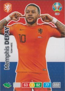 Adrenalyn Euro 2020 - 239 - Memphis Depay (Netherlands) - Team Mate