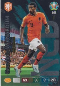 Adrenalyn Euro 2020 - 240 - Georginio Wijnaldum (Netherlands) - Fans' Favourite