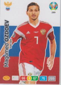 Adrenalyn Euro 2020 - 289 - Magomed Ozdoev (Russia) - Team Mate