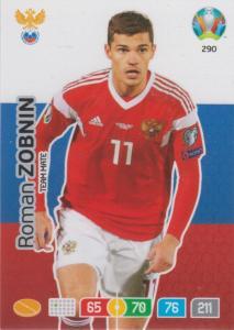 Adrenalyn Euro 2020 - 290 - Roman Zobnin (Russia) - Team Mate