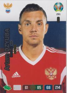 Adrenalyn Euro 2020 - 291 - Artem Dzyuba (Russia) - Captain