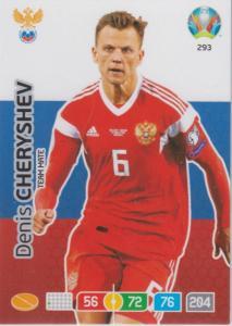 Adrenalyn Euro 2020 - 293 - Denis Cheryshev (Russia) - Team Mate