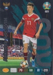 Adrenalyn Euro 2020 - 294 - Aleksandr Golovin (Russia) - Fans' Favourite