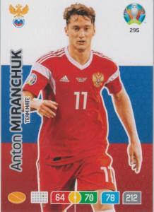 Adrenalyn Euro 2020 - 295 - Anton Miranchuk (Russia) - Team Mate