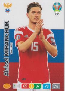 Adrenalyn Euro 2020 - 296 - Aleksei Miranchuk (Russia) - Team Mate