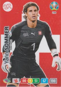Adrenalyn Euro 2020 - 299 - Yann Sommer (Switzerland) - Team Mate