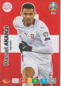Adrenalyn Euro 2020 - 300 - Manuel Akanji (Switzerland) - Team Mate