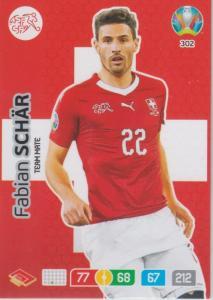 Adrenalyn Euro 2020 - 302 - Fabian Schär (Switzerland) - Team Mate