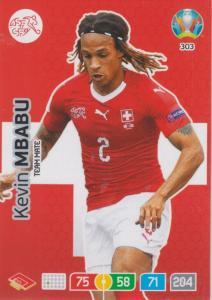 Adrenalyn Euro 2020 - 303 - Kevin Mbabu (Switzerland) - Team Mate