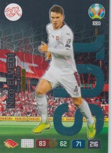 Adrenalyn Euro 2020 - 304 - Nico Elvedi (Switzerland) - Wonderkid