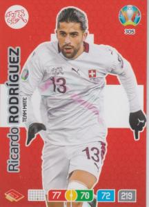 Adrenalyn Euro 2020 - 305 - Ricardo Rodríguez (Switzerland) - Team Mate