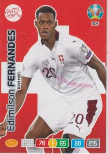 Adrenalyn Euro 2020 - 306 - Edmilson Fernandes (Switzerland) - Team Mate