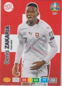 Adrenalyn Euro 2020 - 307 - Denis Zakaria (Switzerland) - Team Mate