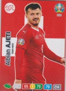Adrenalyn Euro 2020 - 310 - Albian Ajeti (Switzerland) - Team Mate