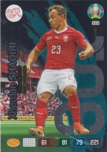 Adrenalyn Euro 2020 - 312 - Xherdan Shaqiri (Switzerland) - Fans' Favourite