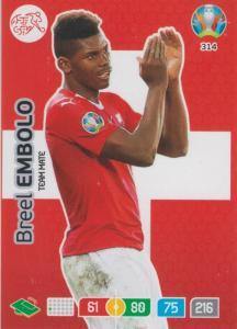 Adrenalyn Euro 2020 - 314 - Breel Embolo (Switzerland) - Team Mate