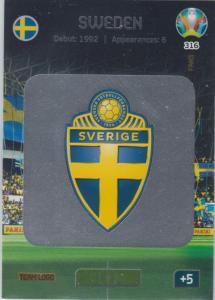 Adrenalyn Euro 2020 - 316 - Team Logo (Sweden) - Team Logo