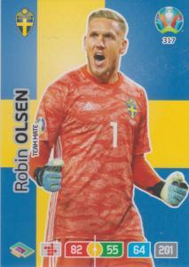 Adrenalyn Euro 2020 - 317 - Robin Olsen (Sweden) - Team Mate