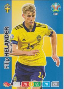 Adrenalyn Euro 2020 - 318 - Filip Helander (Sweden) - Team Mate