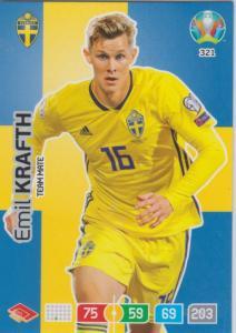 Adrenalyn Euro 2020 - 321 - Emil Krafth (Sweden) - Team Mate