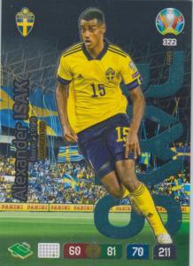Adrenalyn Euro 2020 - 322 - Alexander Isak (Sweden) - Wonderkid