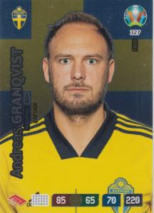 Adrenalyn Euro 2020 - 327 - Andreas Granqvist (Sweden) - Captain