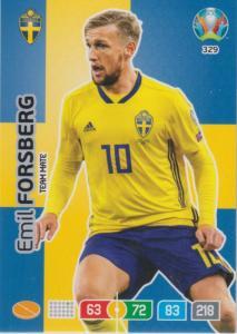 Adrenalyn Euro 2020 - 329 - Emil Forsberg (Sweden) - Team Mate