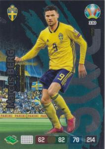 Adrenalyn Euro 2020 - 330 - Marcus Berg (Sweden) - Fans' Favourite